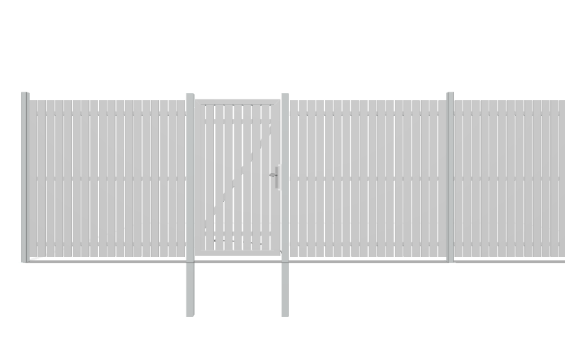 SQUADRA privacy fence